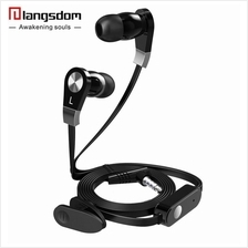 Langsdom JM02 Stereo Bass Earphone With Mic Headset Call Music Headset