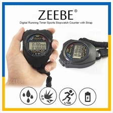ZEEBE Digital Running Timer Sports Stopwatch Counter with Strap