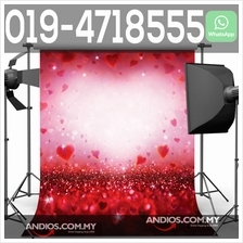 Wedding Valentines Love Couple Backdrop Cloth Background 3*6m