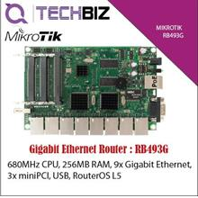 RB493G Mikrotik 9-Port Gigabit Ethernet Router