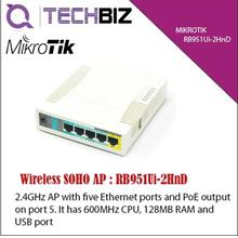 RB951Ui-2HnD Mikrotik 5-Port Wifi SOHO Router