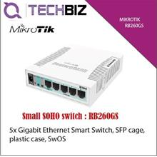 RB260GS Mikrotik 5-Ports SOHO Gigabit Ethernet Switch
