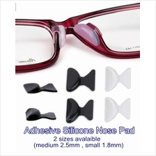 Adhesive Silicone Nose Pad (1 set for 3 Pairs)