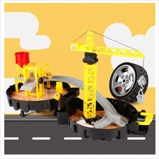 Racing Car Fast Fuel City Parking Portable Art Tire Design Boy Stereo