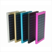 Solar Slim 10000mAH Powerbank/Power Bank With LED Light
