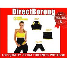 HOT SHAPER shapers T-Shirt,Bra , Belt ,Pants + FREE GIFT