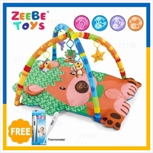 ZEEBE Large Baby Play Soft Gym Soft Mat Toy Travel Small Lion Design