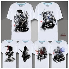 LOL League of Legends Akali Zed Ezreal Twisted Fate Lee Sin Tee Tshirt