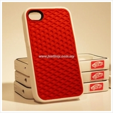 iPhone 4/4s Vans Waffle Sole Rubber Case - Red
