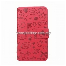 Samsung Galaxy Note 3 Cute Pattern Case - Red