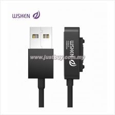 WSKEN Sony Magnetic Single Metal Fast Charging Cable - Black