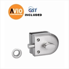 DORETTI DAG94BSS GLASS TO WALL LOCK SUS 304 STAINLESS STEEL