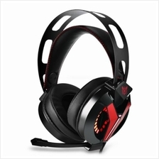 ONIKUMA M180 STEREO GAMING HEADSET 2.0M CABLE LED LIGHT (RED)