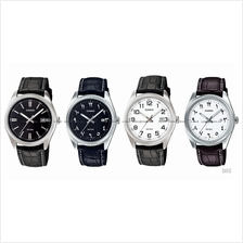 CASIO MTP-1302L STANDARD His & Her date leather strap *Variants