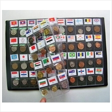 60 countries Regions of the world Currency coins collection books