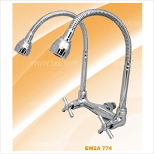 ELISE Double Flexible Kitchen Sink Water Tap Faucet (EW2A774)