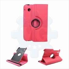 Galaxy Tab 2 7.0 P3100 360° Rotate Rotating Case Cover [Hot Pink]