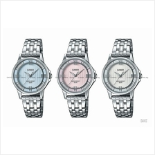 CASIO LTP-1391D STANDARD analog lame-sprinkled SS bracelet *Variants