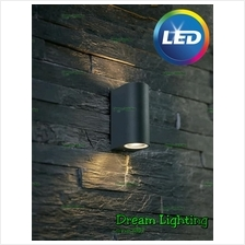 Dream Lighting / 2way LED 2x3Watts / UP DOWN LIGHT / Black / Warmwhite