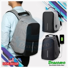 DracoEvo Anti-Theft Backpack Multi Function Bag USB Charging