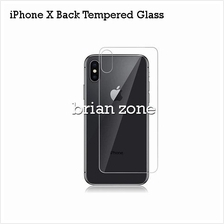 Premium Quality Back Tempered Glass for iPhone X