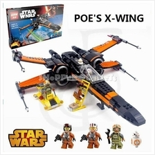 Lxpxn Compatible Brick Star Wars Poe's X Wing X-wing 05004