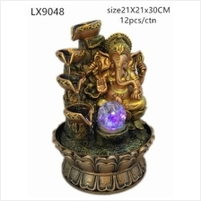 WATER FOUNTAIN - GANESHA 9048 WATER FEATURE FENG SHUI HOME DECORATION