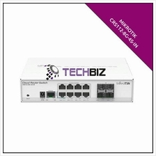 CRS112-8G-4S-IN Mikrotik 8 Gigabit Ethernet Port 4 SFP cages
