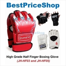 UFC MMA Half Finger Boxing Glove Martial Art Training Gloves JH-HF03