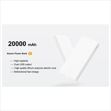 Xiaomi Original 20000mah powerbank 2C qualcomm3.0 dualport fast charge