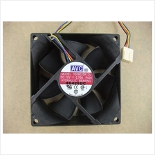 AVC DS08015R12H-006 80*80*15mm 12V 0.50A 3Pin Cooling Fan