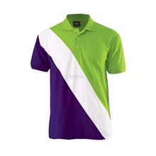 NZ2572 Lacost Cut & Sew Polo T-shirt (Min Order 10pcs)