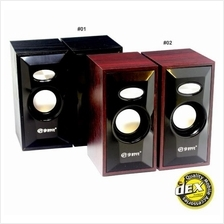 Promotion Wooden Digital Computer Speaker V-08 !! Limited Unit