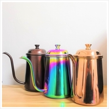Stainless Steel Narrow Mouth Coffee Pour Over Kettle Hand Drip Pot