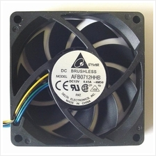 Delta 12v DC 0.45a 70x15mm 3 pin cooling Fan AFB0712HHB-S57V