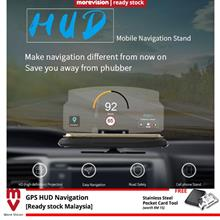 6 inch Screen Car GPS Navigation HUD Head Up Display Projector Phone