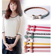 PU Leather Ribbon Belt 14113