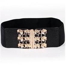 PU Leather Rose Flexible Belt 14126