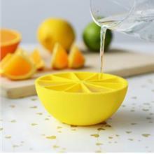 Summer Essential~Creative 10 Grid Lemon Ice Mould
