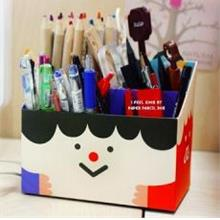 Korean~DIY Table Storage Box-Smile Face