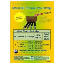 Konica Minolta Bizhub C300/C352 Compatible Copier Toner Cartridge