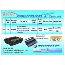 Ricoh SP5200DN/5210SF/5210SR etc.Compatible Drum Units