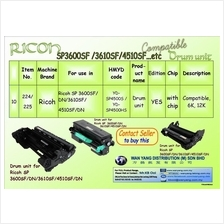 Ricoh SP 3600SF/DN/3610SF/4510SF/DN etc.Compatible Drum Units