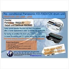KX FAD412X Reconditional Panasonic  drum unit