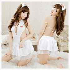 Toys A174 SEXY NURSE DRESS UNIFORM COSPLAY Man Sex Play - Sexy Baju