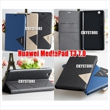 Huawei MediaPad T3 7.0 Triangle Standable FLIP Case with Pocket