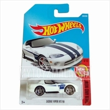 Hot Wheels 2017 Then And Now Dodge Viper RT/10 (White)
