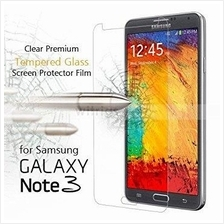 Tempered Glass Protector Samsung Galaxy Note 2 3 Neo 4 5 FREE Cable