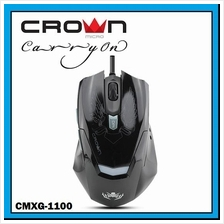 CROWN MICRO Wired Gaming Mouse with Lighting DPI CMXG-1100 BLAZE