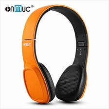 ONMUC L5 FOLDABLE TOUCH CONTROLLED BLUETOOTH HEADSET (ORANGE)